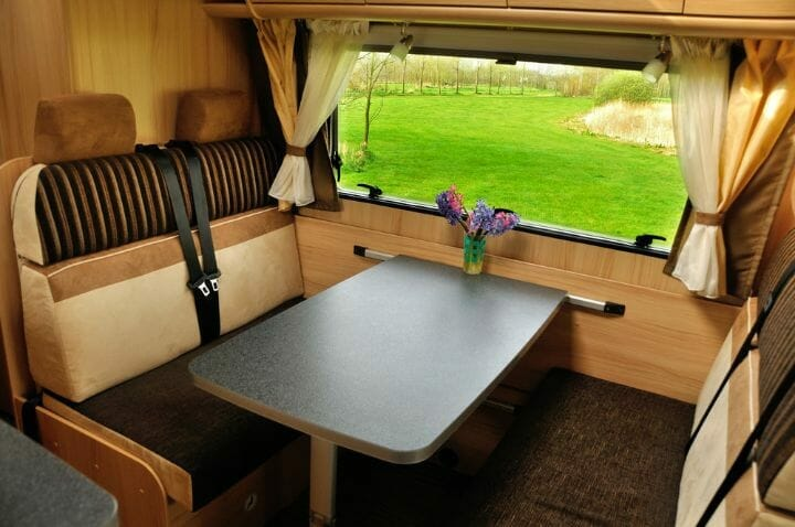How To Attach Furniture In A Van