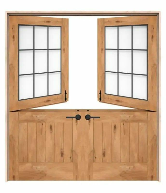 Alternatives To Sliding Glass Doors - Dutch Doors