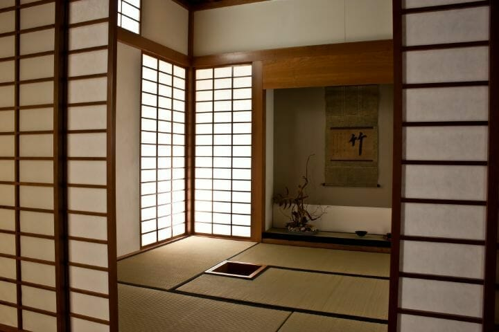 Best Japanese Bedroom Ideas - transom and alcove japanese room