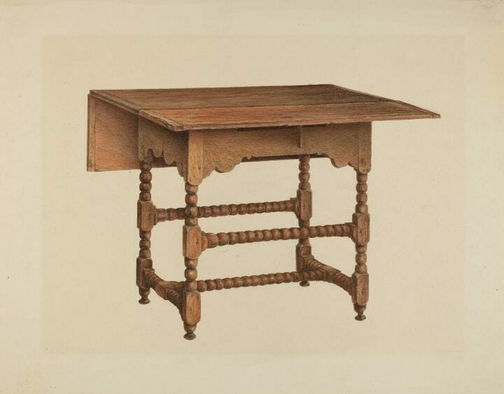 What Is A Drop Leaf Table: Console Table