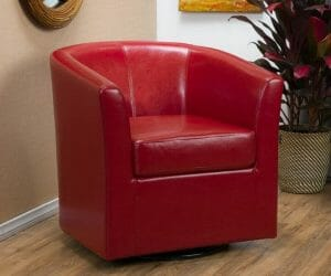 Leather Swivel Barrel Chairs: Top 9