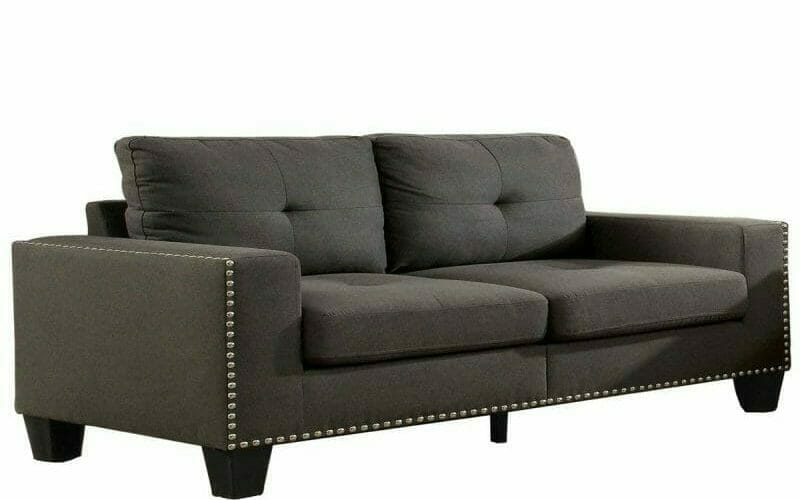 What Are The Common Names For The Various Styles Of Sofa Armrests - Track With Nails Arm