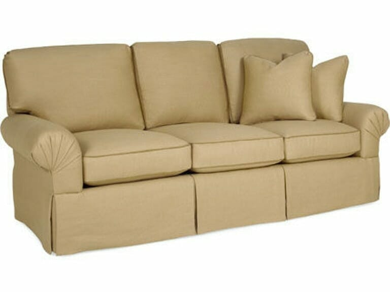 What Are The Common Names For The Various Types Of Sofa Armrests - Pleated Arm