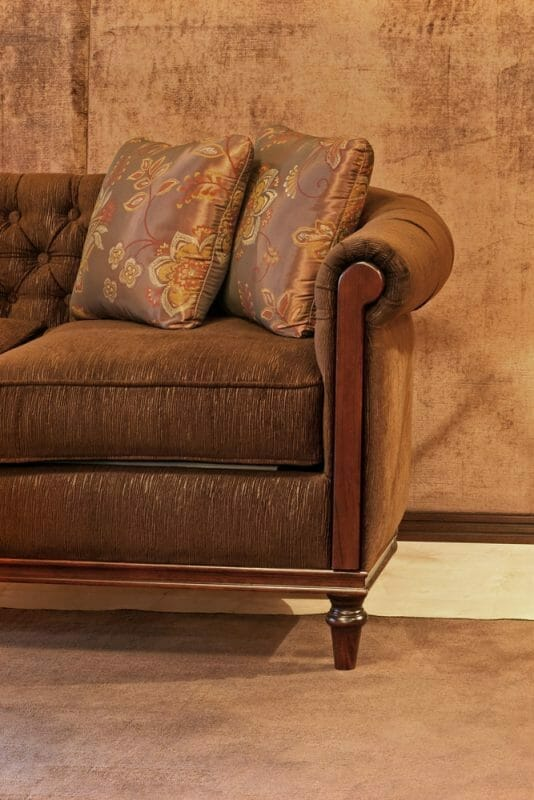 What Are The Common Names For The Various Types Of Sofa Armrests - Ruched Arm