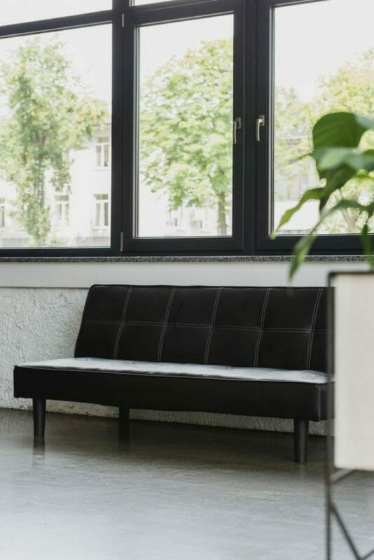 What Furniture To Put Under A Window- Couch