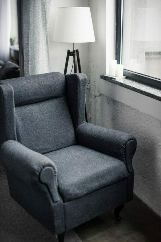 What Furniture To Put Under A Window- Reading Chair